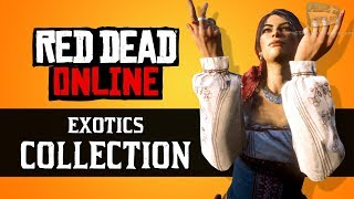 Red Dead Online - Exotics Collection Locations [Madam Nazar Weekly Collection]