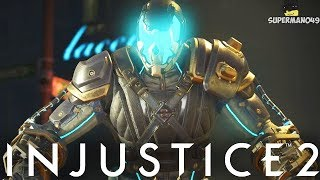 "854 Damage Combo With Bane Legendary Gear! - Injustice 2 ""Bane"" Legendary Gear Gameplay"
