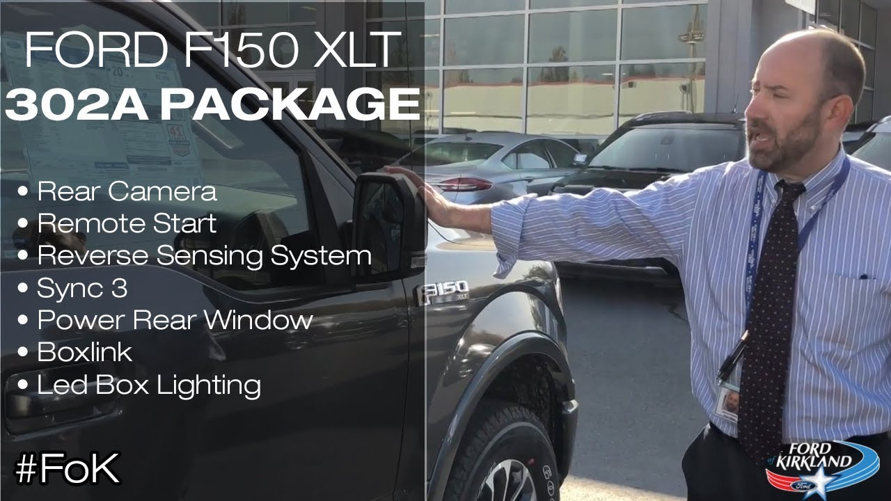 Ford 302A Package >> 2019 Ford F150 XLT 302a Package Review   Ford of Kirkland ...