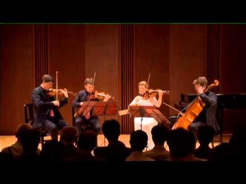 Beethoven string quartet C major op. 59/3 Razumovsky. I.Introduzione Andante con moto