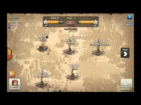 Clash of Clans Riesen VS Trollbase