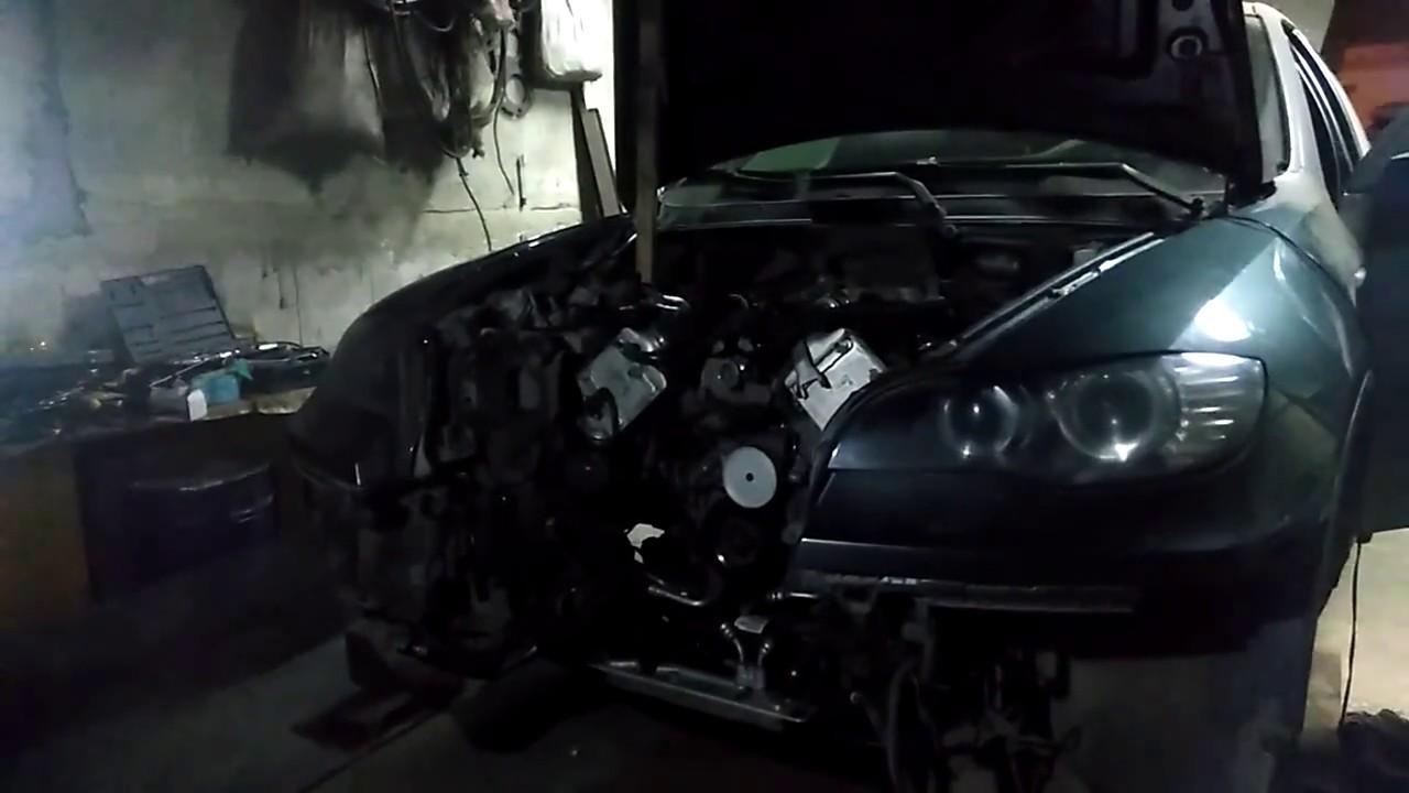 Первый запуск после капиталки BMW N63