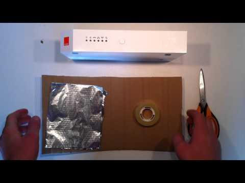 augmenter son signal wifi avec une canette doovi. Black Bedroom Furniture Sets. Home Design Ideas