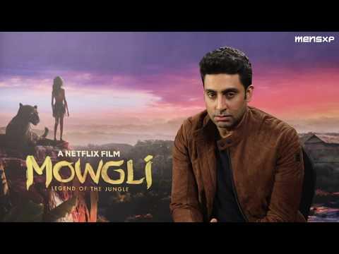 MensXP: Abhishek Bachchan As Bagheera In Netflix's Mowgli | Abhishek Bachchan Interview