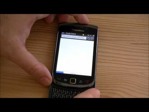 BlackBerry Torch Software Tour