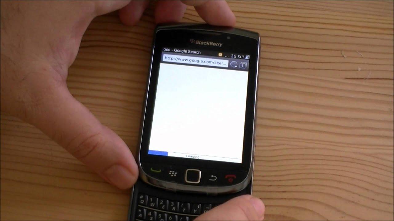 Blackberry Torch Apps
