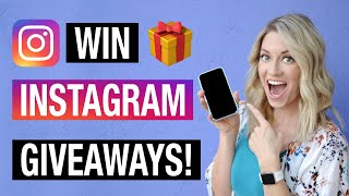 How to Win Instagram Giveaways (TIPS & TRICKS for 2020!)