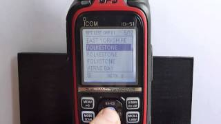 Accessing Repeaters & Reflectors with the ID-51E 50th Anniversary D-STAR Dual Band Handheld