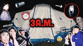 CAMPING AT 3A.M.!! | Louie's Life