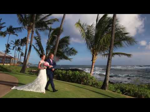 Heidi  Mark  Kauai Destination Wedding Film