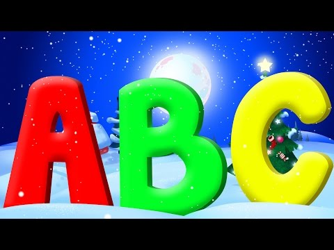 ABC Song | Christmas Song | Christmas Carols | Nursery Rhymes | Learn Alphabets
