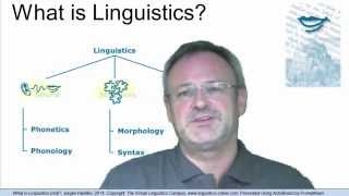 GEN102 - What is Linguistics (not)?