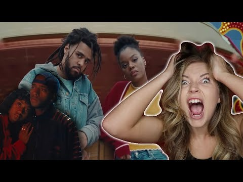 6LACK – Pretty Little Fears ft. J. Cole | MUSIC VIDEO REACTION