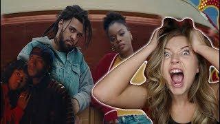 6LACK - Pretty Little Fears ft. J. Cole | MUSIC VIDEO REACTION