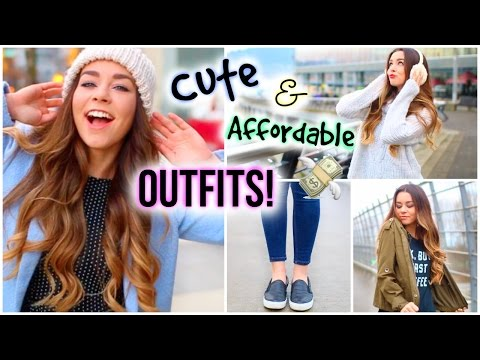 Cute & Affordable Outfit Ideas For Winter!