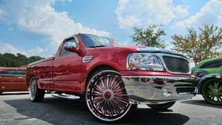 Ford F 150 On 28 Dub Flash Rims Jamming Loud As Hell By Whips By Wade