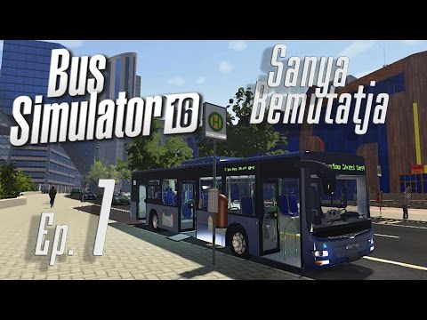 Bus Simulator 16. 1. rész A tutorial