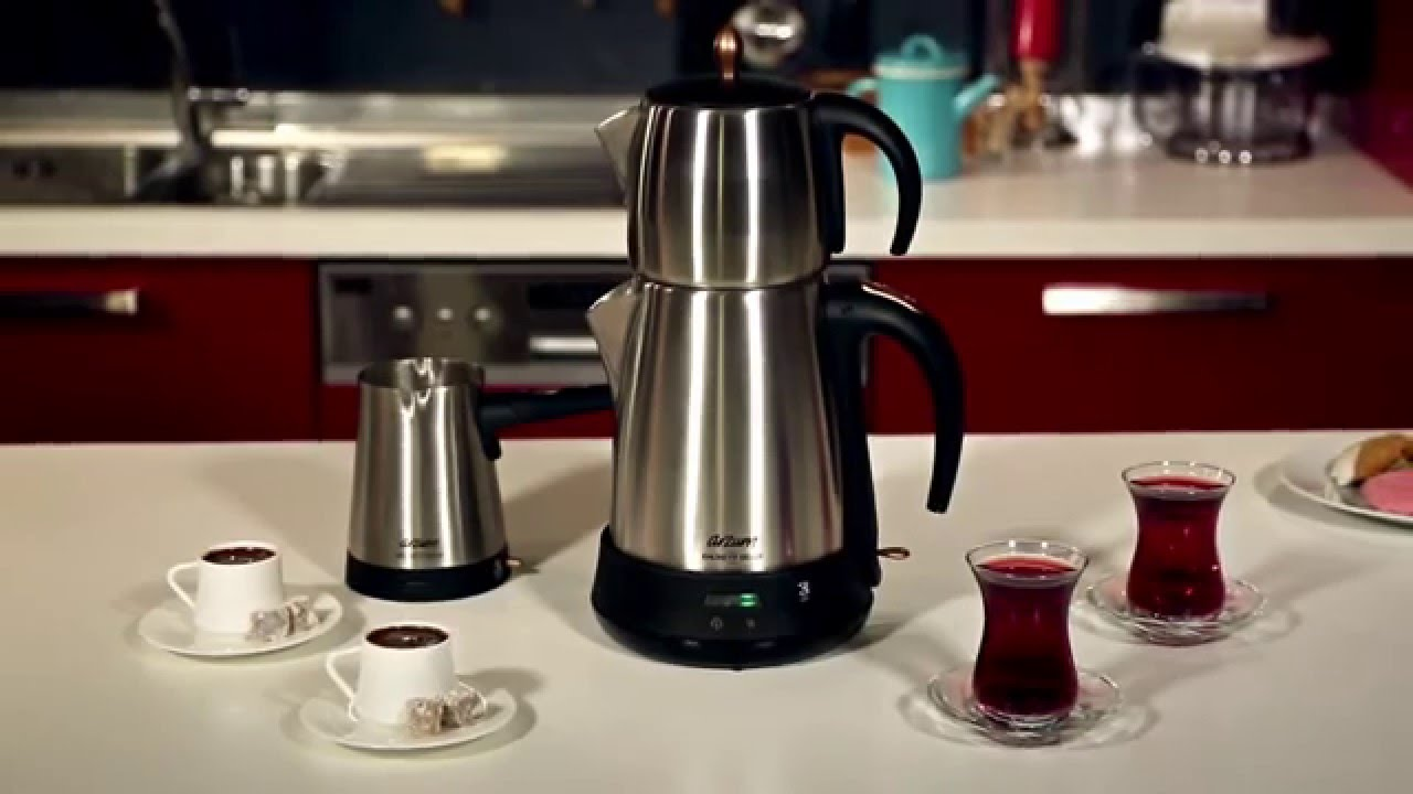 Arzum Ehlikeyf Delux Çay ve Kahve Robotu Seti - YouTube