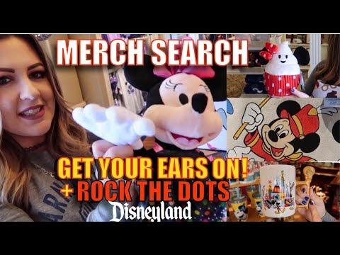 MERCH SEARCH! | NEW Mickey's 90th, D-Lish Disney Treats & Rock The Dots Merch At Disneyland!