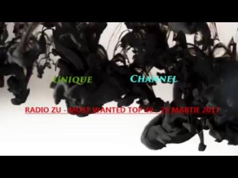 RADIO ZU - MOST WANTED TOP 40 - 25 MARTIE 2017