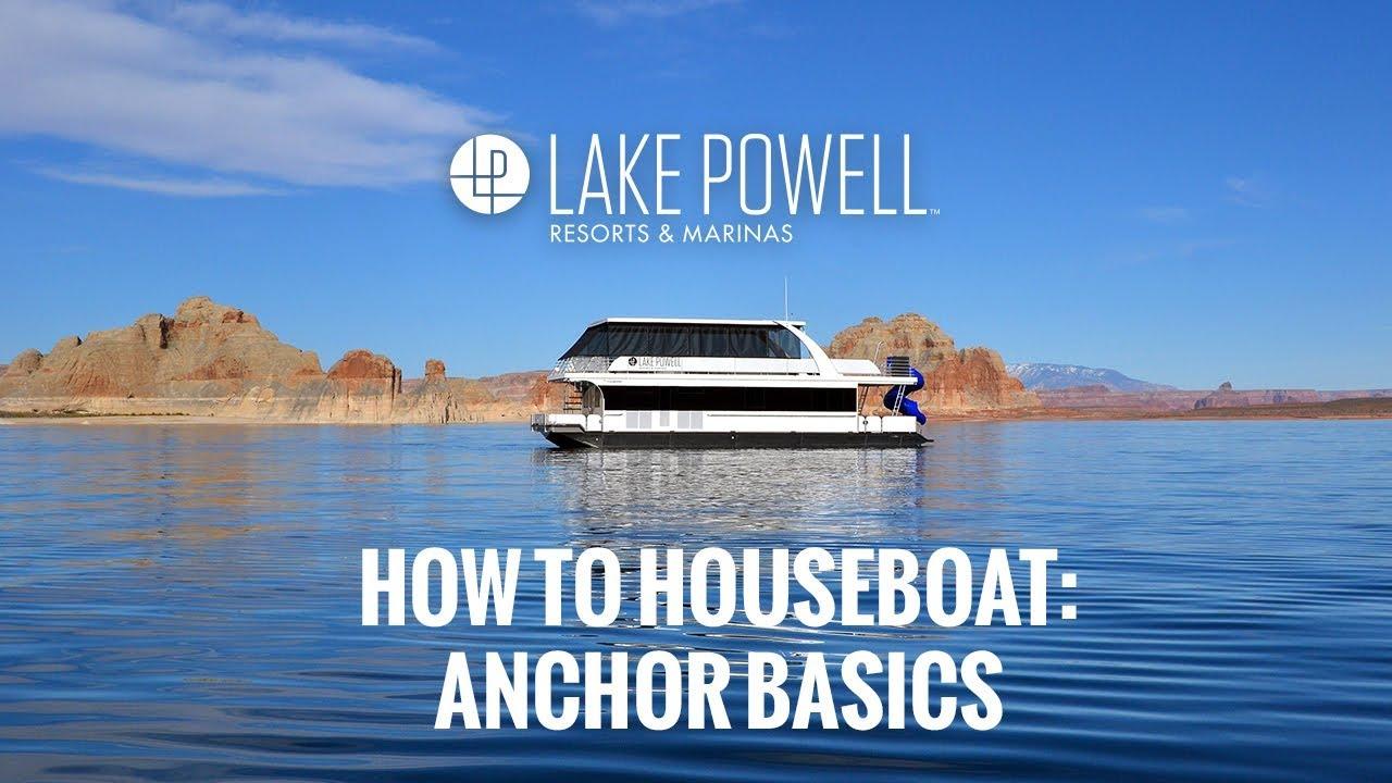 Houseboat Training Videos | Lake Powell Resorts & Marinas AZ