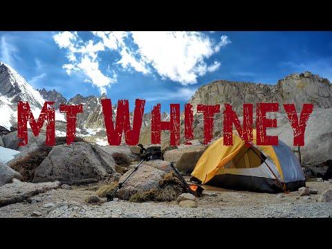 Mt. Whitney - Snow Ascent - Glissading the Chute