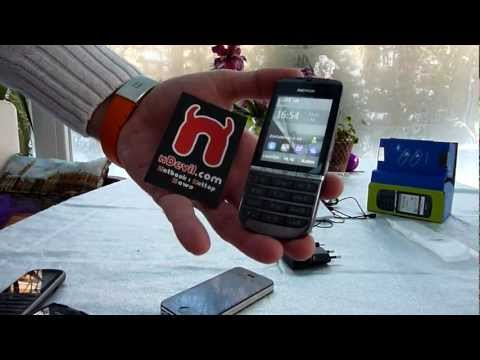 Nokia Asha 300 Unboxing and Quick Look