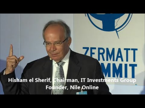 Hisham El Sherif   Dare to Innovate   Zermatt Summit 2014