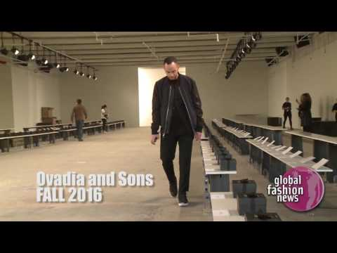 Ovadia & Sons Fall / Winter 2016 Men