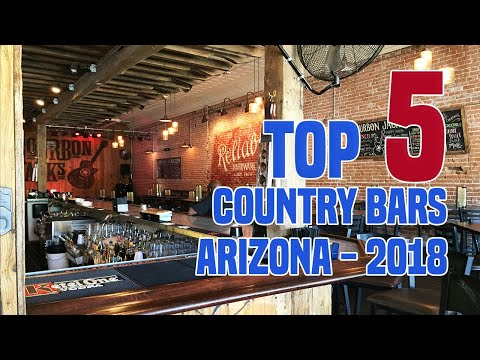 TOP 5 Country Bars of Central Arizona 2018