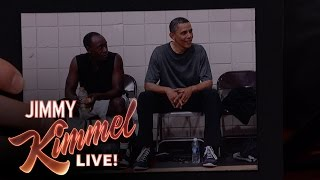 Don Cheadle Played Basketball with President Obama