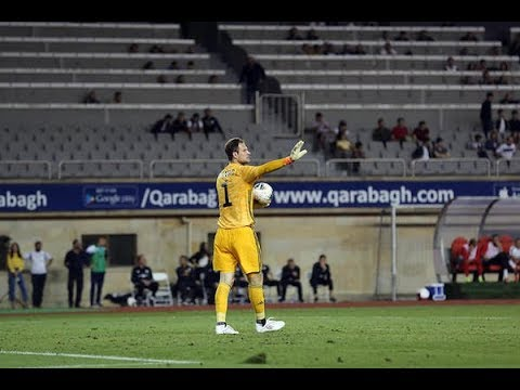 First month of Asmir Begovic at Qarabagh