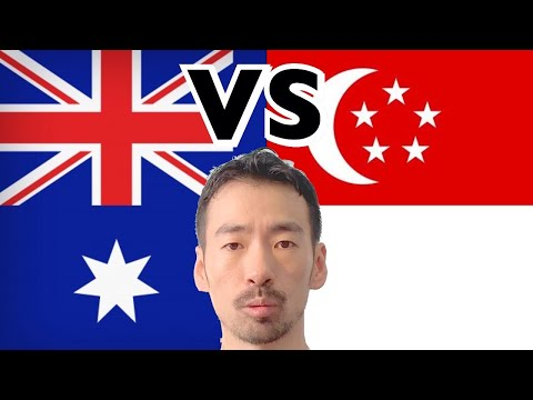 Differences In Between #Singapore And #Australia