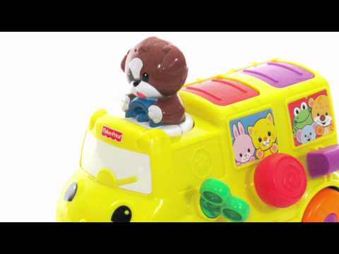 Fisher Price Toys | Musical Popup Bus Toy Review