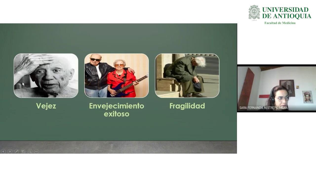 Salud y Enfermedad Mental en el Adulto Mayor en la Pandemia por COVID-19 - Dra. Sara F. Restrepo