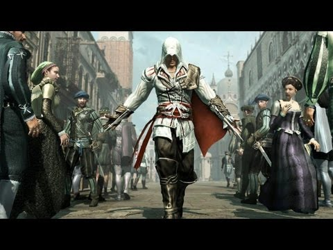 Ezio's Rising: The Assassin's Creed 2 Game Movie (Full Story)