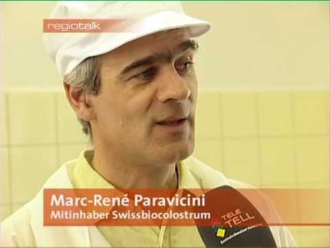 Colostrum RegioTalk mit Swiss Bio Colostrum 2