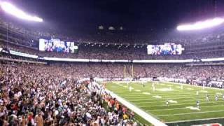 The First Regular Season JETS Chant at The New Meadowlands Stadium