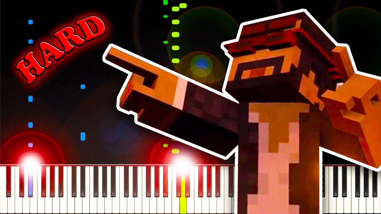 Minecraft Piano Sheet Music Roblox Sheet Music Boss Revenge Creeper Aw Man Sheet Music Piano Solo In G Minor Download Print Sku Mn0199996