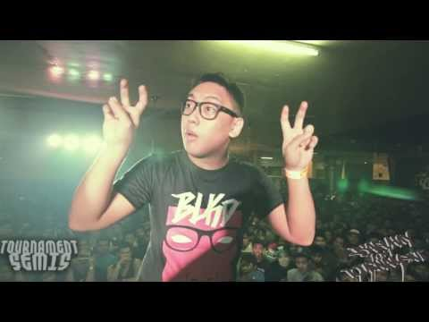 FlipTop - BLKD vs Flict-G @ Isabuhay Tournament