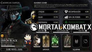 Mortal Kombat X Android Level Up / Subiendo de Nivel Erron Black Dia de los Muertos
