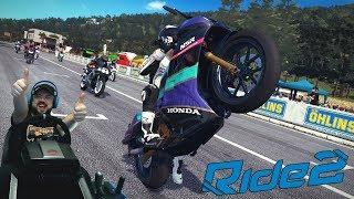 Возрождение адреналиновых гонок на байках Ride 2