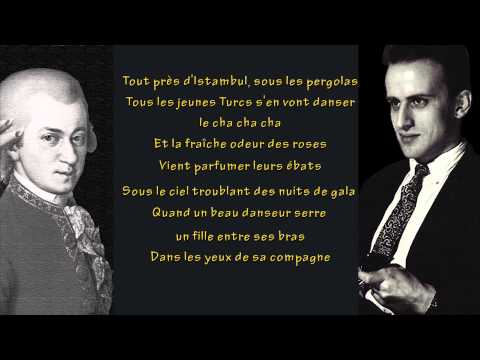 Boris Vian - Mozart avec nous (avec paroles)