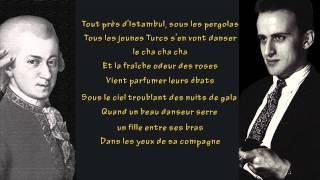 Boris Vian - Mozart avec nous (avec paroles)