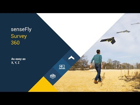 senseFly Survey 360 – As Easy as X, Y, Z