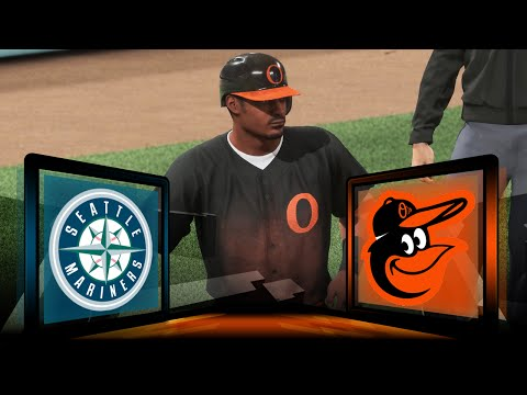 MLB 16 The Show Baltimore Orioles Franchise- Trying To Start A Streak vs Seattle Mariners