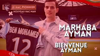 Bienvenue Ayman Ben Mohamed !