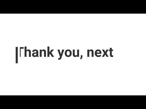 Thank u next Acoustic Cover by Jonah Baker