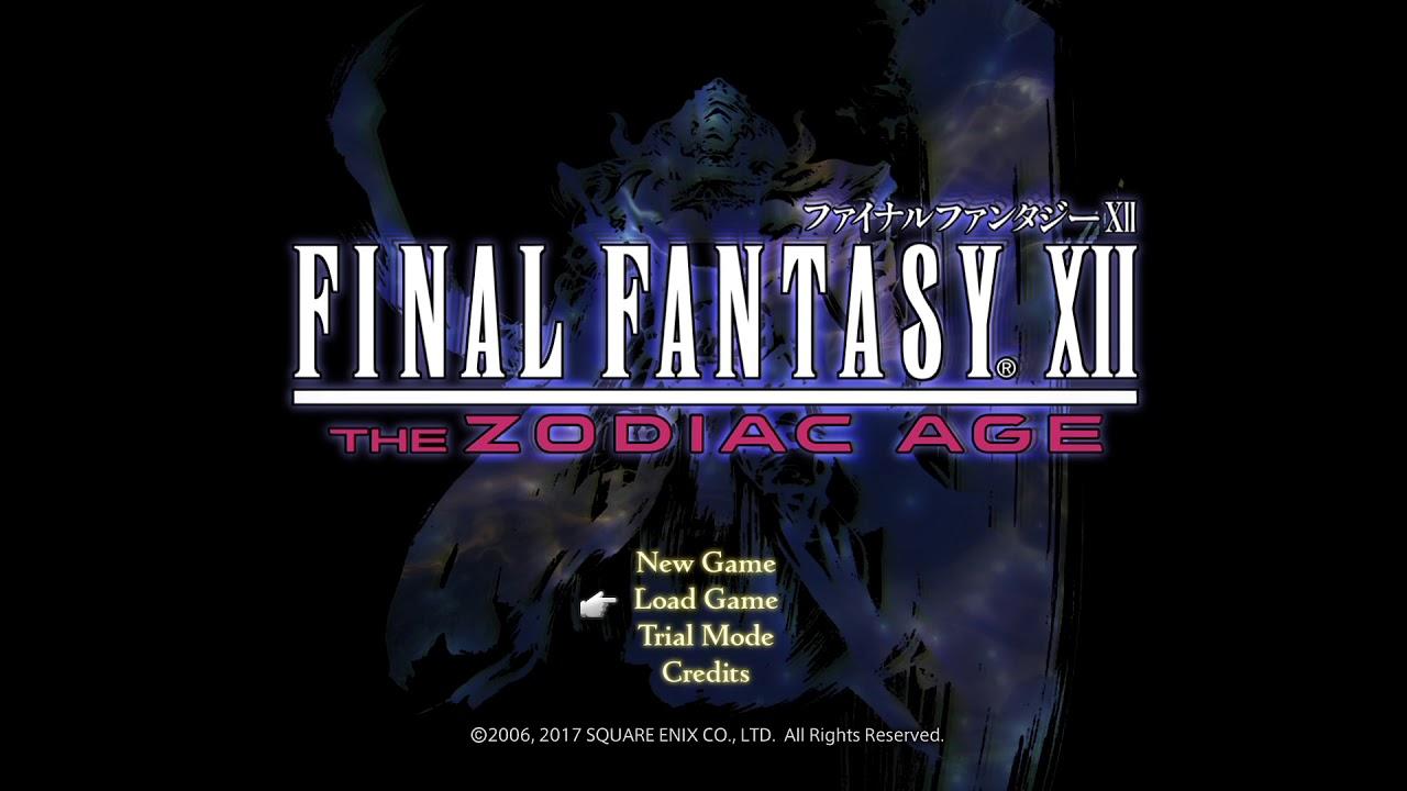PS4 FINAL FANTASY XII THE ZODIAC AGE OP メインテーマ曲 main theme