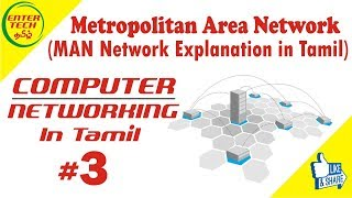 Metropolitan Area Network in Tamil  | Types of Network | Computer Networking Course | EntertechTamil